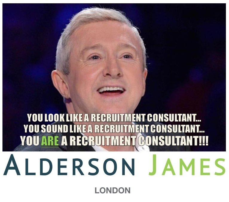 Louis Walsh - You look like a recruitment consultant... you sound like a recruitment consultant... you are a recruitment consultant